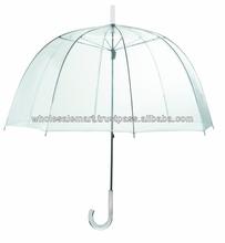 """Wholesale 46"""" Clear Dome/Bubble Umbrellas"""