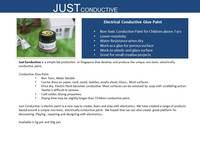 Just electrical conductive paint (50gr jar)