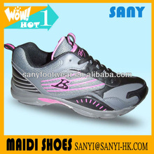 OEM Hot Model Breathable and Comfortable Running Sports Shoes for Woman in 2013 Both for Spring,summer,autumn and winter