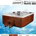 Joyspa de plástico bañera portátil, Utilizado bañera, China , whirlpool nado exterior spa - JY8002 ( fábrica )