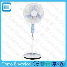 high speed 1350RPM 16 inch 12 volt dc fans with led lights DC-12V16E