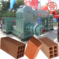 Clay brick machine with manufacturing process of clay bricks in brick plant