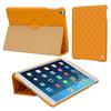Diamond pattern micro fiber material for iPad mini retina cover