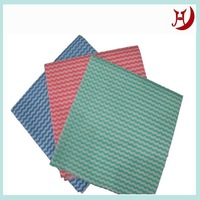 Eco Friendly Hot Sale Best Price power special fine easy clean spunlace nonwoven fabric for garment cleaning wiper/hand pad