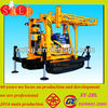 Hot in oversea market crawler mounted portable used offshore oil drilling rig XY-2BL with oil rig drill bit approximately 500m