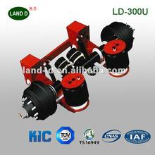 30000lbs Under Slung Ride Height 5.5'' Steel Heavy Duty Truck Trailer Air Bag Suspension System