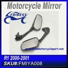 For YAMAHA R1 2000 2001 Mirror For Motorcycle Black FMIYA008