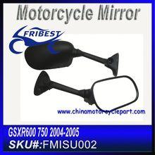 For SUZUKI GSXR 600 GSXR 750 K4 2004 2005 Motorcycle Review Mirrors Black FMISU002