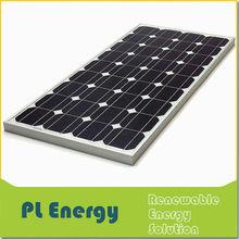12v 80w portable chinese low price mini solar panel