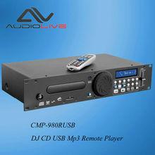 CMP-980RUSB factory price Professional USB Single CD USB SD Audio DJ Player