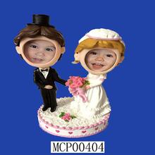 Novelty Happy Family Wedding Cake Topper Figurines