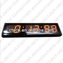 6 Digits 4 Inch Digital Office Wall Clocks