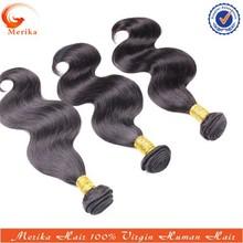 "Wholesale 20"" 1b# full cuticle human hair weaving,100% unprocessed wavy virgin Brazlian hair"