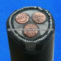 11kv 22kv 33kv 3C 185mm2 underground china cable for myanmar