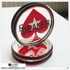 77MM Acrylic Pokerstars Casino Dealer Button Pressing Poker Cards Guard