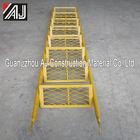 Super light step ladder for scaffolding platform