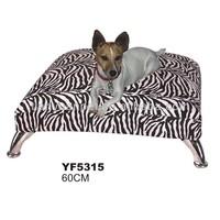 pet metal luxury frame dog bed