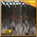 100% de alta calidad de grado 5a cabello lacio brasileño virgen& hiar humanos