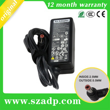 variable dc power supply 20V 2A 40W with 5.5*2.5MM for lenovo/IBM notebooks