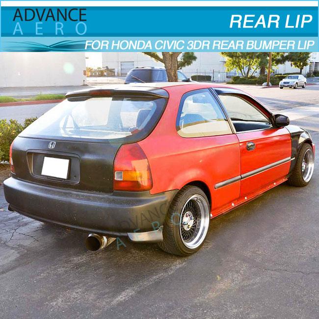 2000 Honda Civic Parts FOR 1996 1997 1998 1999 2000 HONDA CIVIC 3DR BODY KIT HATCHBACK PU 2PC ...