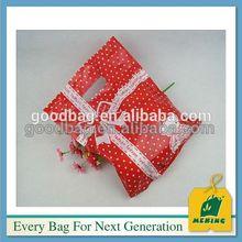 logo printing on plastic shopping clothes bag, MJ-PB0529-Y, China Supplier