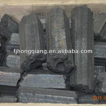 Hexagonal sawdust bbq cooking coal