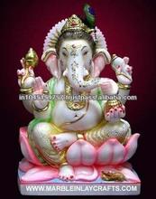 Pure Marble Ganesh Murti