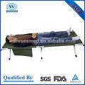 Ea-8a/8b/8c liga de alumínio duplo camping cama dobrável