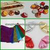 colorful foil Chocolate wrappers(aluminum foil+paper),FDA Certificate