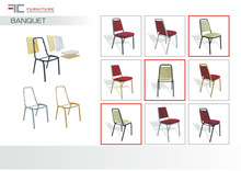 Banquet high quality chair components: frame, plywood etc. Ideal parts for your products, OEM etc.