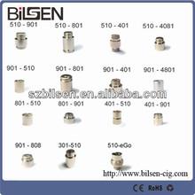 original ecig adapter 401-510 adapter/ 401 to 510 adapter/connector