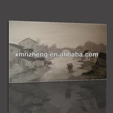 China Scenery Handmade Oil Painting