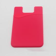 2014ขายร้อนสติกเกอร์3mกลับบัตรชุดสำหรับiphone, ซิลิโคนสติกเกอร์3mชุดบัตรสมาร์ท, ซิลิโคนกระเป๋าสตางค์โทรศัพท์มือถือชุด