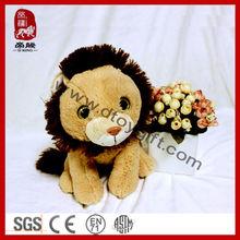 Stuffed Plush Toy Plush Lion Plush Wild Animal