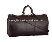 Best price duffel bag leather / folding duffel bag travel / modern men duffel bag