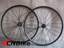 Farsports Durable&Light 700C Depth 20mm Width 20.5mm Tubular Cyclocross Wheels With One Year Warranty