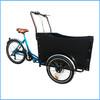 three wheel electric cargo tricycle pedal three wheels bike