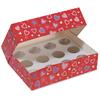 custom 12 cupcake box from professional manufacturer