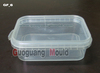 plastic injection thin wall container moulding