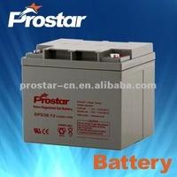 12V 38Ah Solar Gel Battery Rechargeable Storage Batteries