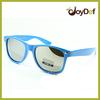 New Glossy Blue Silver Mirror Wayfarer Sunglasses UV400 Protection Custom logo
