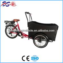 three wheel electric cargo bike trike battery 48v 20ah