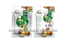 50g date plastic bag/date packing bag /snack bag