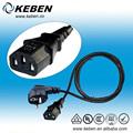 hohen Standard netzkabel stecker korea rechten winkel 3 pin stecker mit kabel