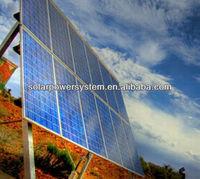 1000w high efficiency high power solar led flood light Full set On grid/Off grid backup Mounting system Home solar panel kit , s