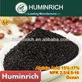 Huminrich Shenyang algas fertilizante Npk química composto com alta matéria orgânica e Alginic ácido