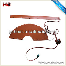12v/240vlotage industrial electric heating element silicone rubber board or plate heater