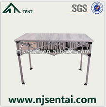 2014 collapsible table for tent/aluminum camping table/aluminum folding table