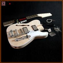 Customized diy made Left Hand Electric Guitar Kit
