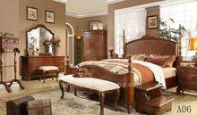 teak wood king size beds